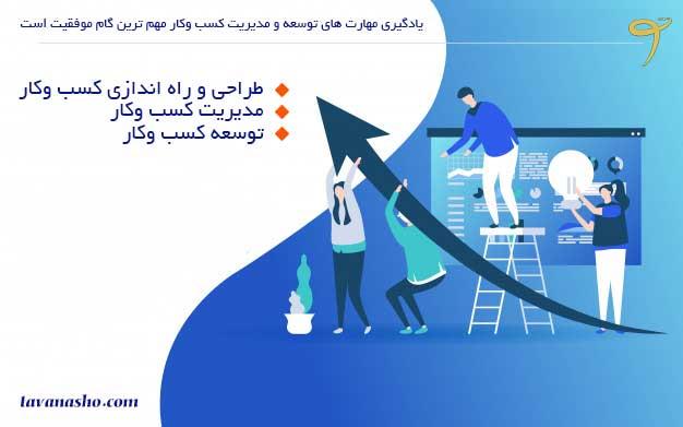 نردبان موفقیت کسب وکارهای کوچک