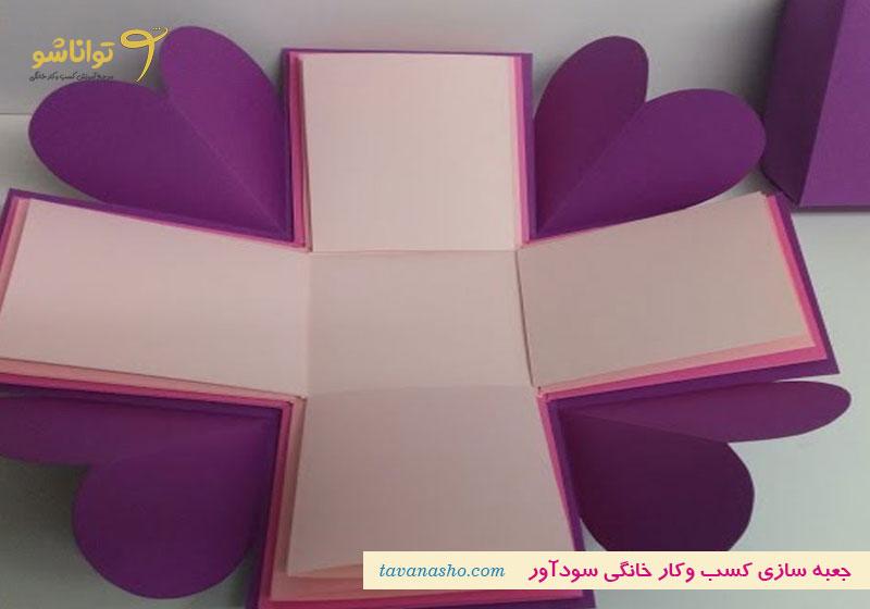جعبه برای هدیه تولد