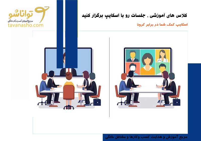 استفاده از اسکایپ برای کسب و کار